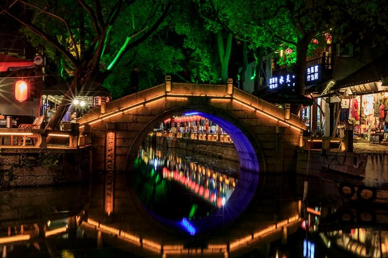桥梁led灯带亮化工程